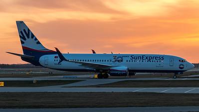 SunExpress / Boeing B737-8HC(WL) / TC-SOF