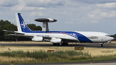 NATO - NAEW&C Force / E-3A Sentry / LX-N90450 / 35 Years NATO AWACS