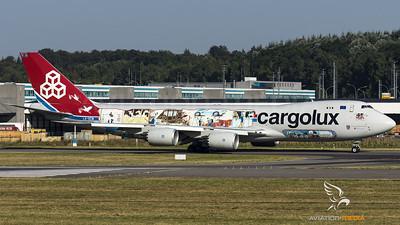 "Cargolux / B747-8F/ LX-VCM / ""45 Years - Cuttaway"""