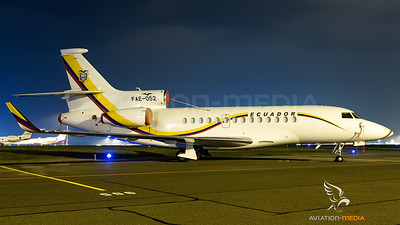 Ecuador Air Force / Falcon 7X / FAE-052