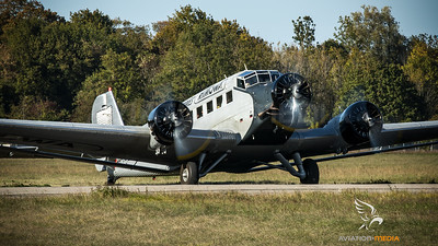 "Ju-Air / Junkers Ju-52 - 3mg4e / HB-HOP / ""Rimowa"""