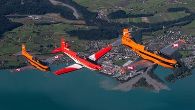 Photo: Bruno Geiger, Air to Air over Bern Alps (Switzerland), 23-06-2021