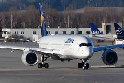 Lufthansa / Airbus A350-900 / D-AIXF