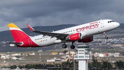 Iberia Express / Airbus A320-216(WL) / EC-LYM