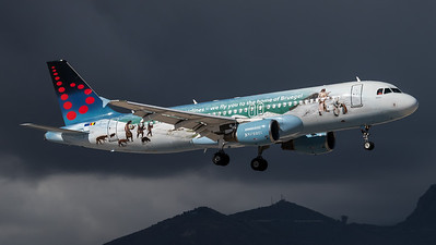 Brussels / Airbus A320-214 / OO-SNE / Belgian Icons Livery