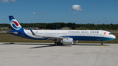 Chongqing Airlines / Airbus A321-253NX / D-AVYD (to be B30EL)