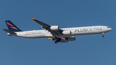 Plus Ultra / Airbus A340-642 / EC-NFP