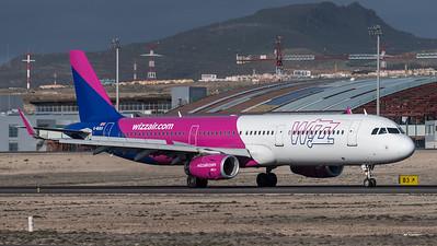 WizzAir / Airbus A321-231(WL) / G-WUKH