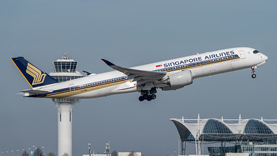 Singapore Airlines / Airbus A350-941 / 9V-SMQ