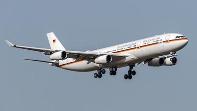 German Air Force / Airbus A340-313X / 16+01