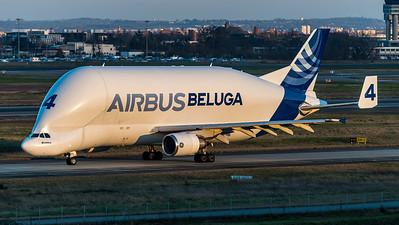 Airbus Transport International / Airbus A300B4-608ST / F-GSTD