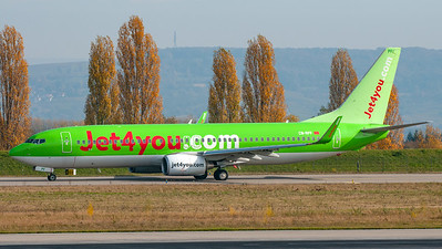 Jet4you / Boeing B737-8K5 / CN-RPF