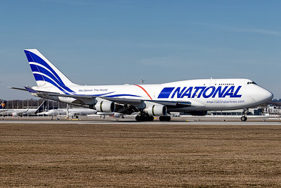 National Airlines / Boeing 747-400 / N702CA