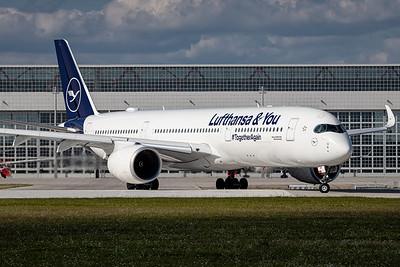 Lufthansa / Airbus A350 / D-AIXP / Lufthansa & You