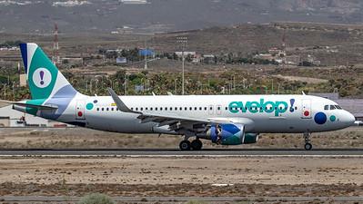 Evelop / Airbus A320-214(WL) / EC-LZD