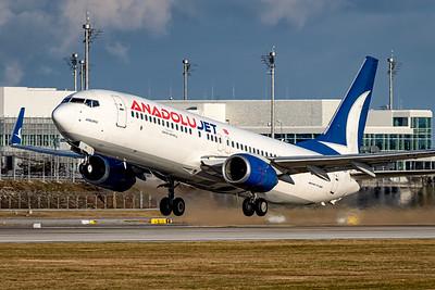 Anadolu Jet / Boeing 737-800 / TC-SBP
