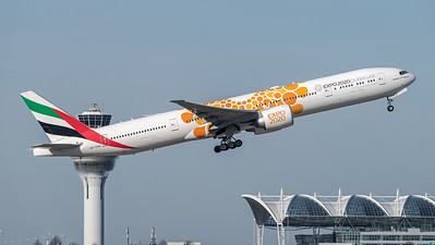 Emirates / Boeing B777-31H(ER) / A6-ENG / Expo 2020 Livery