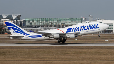 National Airlines / Boeing B747-412BCF / N756CA