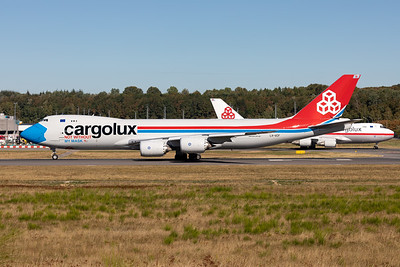 "Cargolux | Boeing 747-8R7F | LX-VCF | ""Not without my mask"" special scheme"