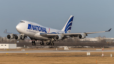 National Airlines / Boeing 744-412(BCF) / N702CA
