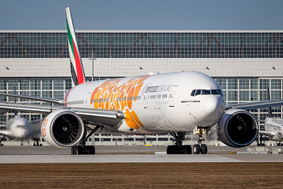 Emirates / Boeing 77W / A6-ENG