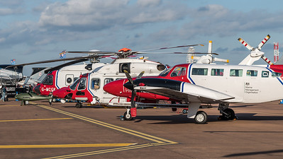 HM Coastguard Aircraft at RIAT 2019