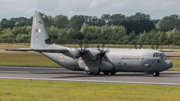 Qatar Emiri Air Force / Lockheed Martin C-130J-30 Hercules / A7-MAH 211