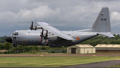 Belgian Air Force 20th Squadron / Lockheed C-130H Hercules / CH-08