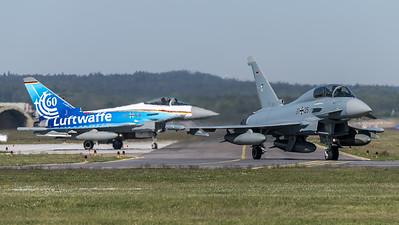 German Air Force TLG74 / Eurofighter Typhoon / 31+25, 30+68