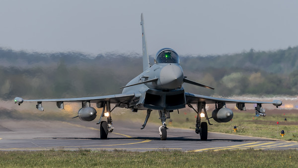 German Air Force TLG74 / Eurofighter Typhoon / 31+00