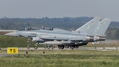 German Air Force TLG74 / Eurofighter Typhoon / 31+02, 30+53, 31+02