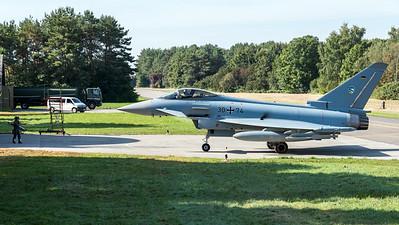 German Air Force TLG 74 / Eurofighter Typhoon / 30+74