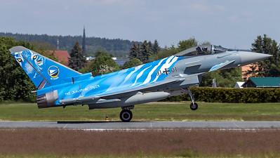 "German Air Force TLG-74 / Eurofighter Typhoon / 31+01 / The ""Bavarian"" Tiger"