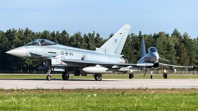 German Air Force TLG 74 / Eurofighter Typhoon / 31+18 & 30+94