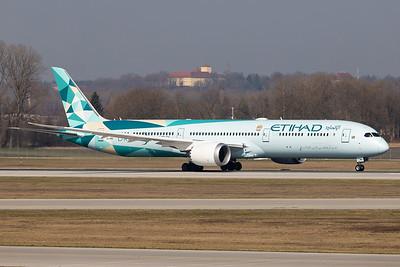 Etihad Airways / Boeing 787-10 / A6-BMH / Greenliner