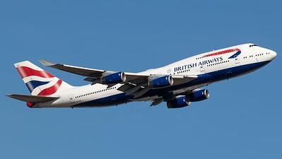 British Airways Boeing B747-400 G-CIVR