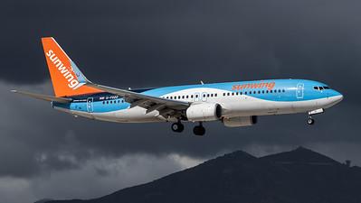 TUI Airways (Sunwing) / Boeing B737-8K5 / G-FDZZ