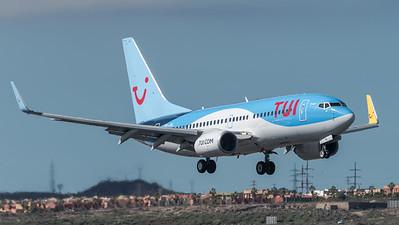 TUI / Boeing B737-7K2 / OO-JAL