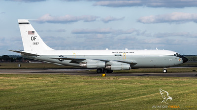 USAF 45RS / Boeing WC-135 Constant Phoenix / 61-2667 OF