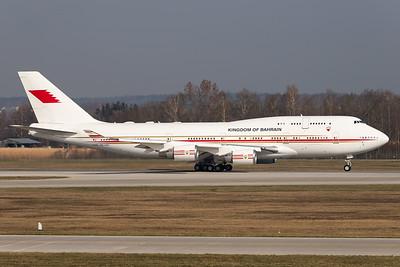Kingdom of Bahrain / Boeing 747-400 / A9C-HAK