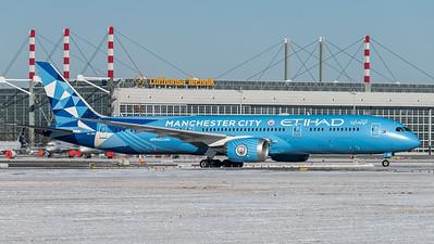 Etihad Airways / Boeing B787-9 Dreamliner /