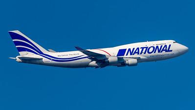 National Airlines / Boeing 747-412(BCF) / N702CA