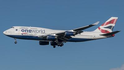 British Airways / Boeing B747-436 / G-CIVL / One World Livery