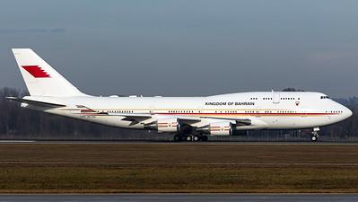 Kingdom of Bahrain / B747-400 / A9C-HAK