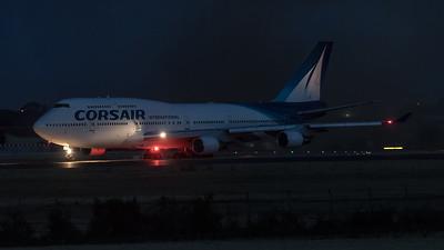Corsair / Boeing B747-422 / F-HSUN