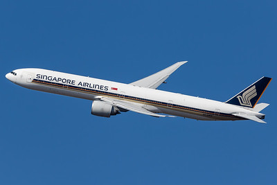 Singapore Airlines / Boeing 777-300 / 9V-SWG