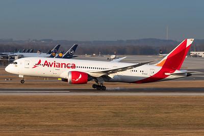 Avianca / Boeing 787-8 / N783AV