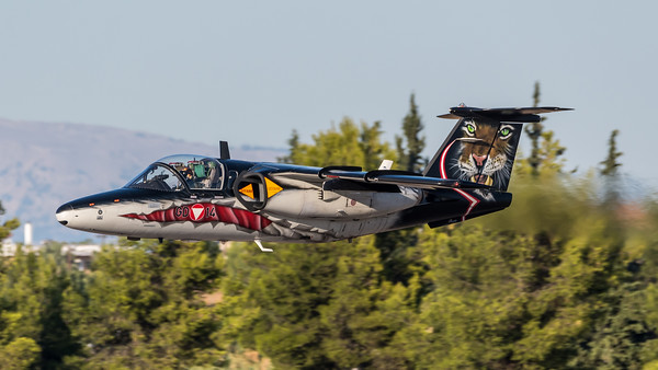 Austrian Air Force 3rd Squadron / Saab 105OE / GD-14 / Tigermeet Livery