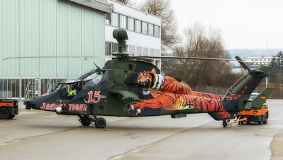 "Heer D/F HFZAT / Airbus EC665 Tiger UHT / 74+64 / ""15 Jahre Tiger"""