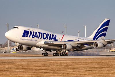 National AIrlines / Boeing 747 / N702CA